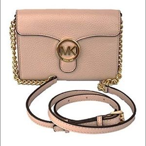Michael Kors Vanna Large Leather Phone Crossbody